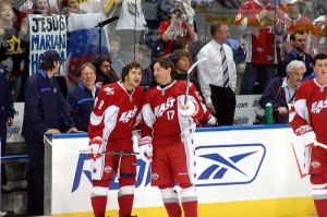 Alexander Ovechkin and Ilya Kovalchuk