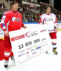 Kovalchuk and Ovechkin