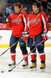 Alexander Semin and Alex Ovechkin