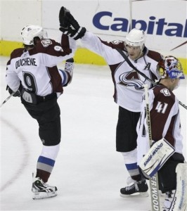 Paul Stastny and Matt Duchene