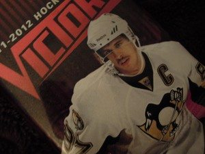 Sidney Crosby hockey card