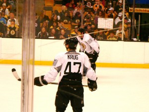 Krug and McQuaid remind me of Merry and Boromir. Yes, I'm a geek.